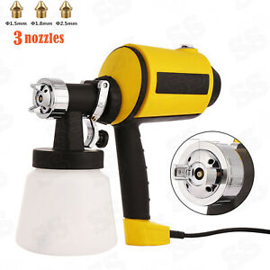 800ml Electric Paint Spray Gun Hand Held Sprayer Painting House Wagner Airless