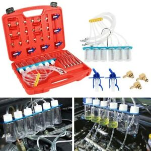 Diesel Diagnostic Injector Nozzle Flow Tester Detection Tool Flow Test Adapter