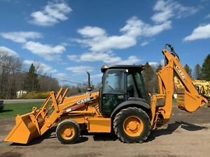 1996 Caterpillar 416b 2wd Tractor Loader Backhoe