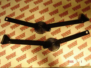 1939 1940 Ford Coupe And 1940 Convertible Trunk Lid Support Arms Pair