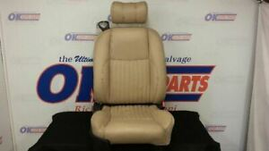 04 Ford Thunderbird Front Passenger Right Power Seat Tan Leather
