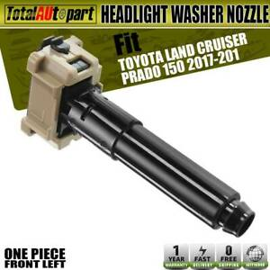 Headlight Washer Nozzle Front Left For Toyota 150 Land Cruiser Prado 2017 2019