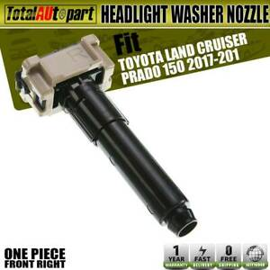 Headlight Washer Nozzle Front Passenger Side For Toyota Land Cruiser Prado Suv