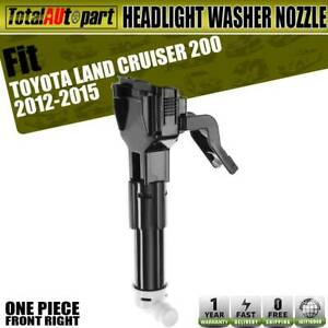 Headlight Washer Nozzle Front Passenger Side For Toyota Land Cruiser 2012 2015