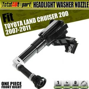 Headlight Washer Nozzle Front Passenger Side For Toyota Land Cruiser 2007 2011