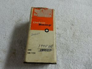 Nos 1962 Oldsmobile Delco Remy Headlight Switch 1995117 1995118 1963 Olds 88 98