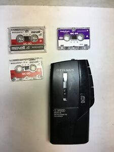 Optimus Micro 36 Voice Recorder Electronics Office Equipment Dictation Test Work