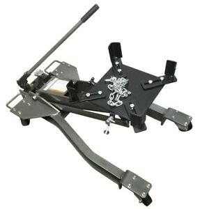 1 Ton 2000 Lb Low Profile Transmission Jack Heavy Duty Lifting Maximum 31 1 2