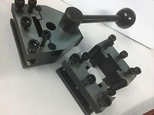 Swiss Type Quick Change Tool Post Compatible For Direct Mount To Myford Lathes