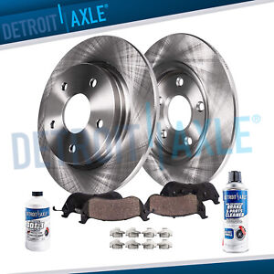 2009 2010 2011 2012 2013 2014 Acura Tl Rear Disc Brake Rotors Ceramic Pads Kit
