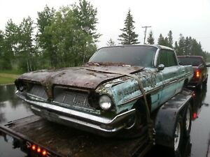 1961 Pontiac Parisienne 4dr Ht Catalina Parting Out this Auction Is For 1 Wheel