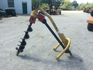 Very Nice Everything Attachments 3 Point Hitch Post Hole Digger