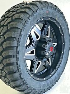 4 20 Inch Worx Offroad Rims Tires Wheel Package 20x9 8x165 18mm 8lug Gmc Chevy
