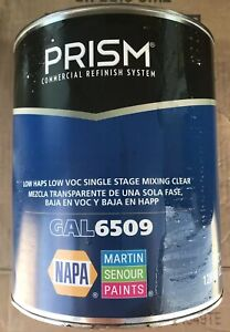 Martin Senour Prism Gal6509 Mixing Clear Automotive Paint Finish Product 6509