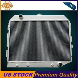 3 Rows aluminum Radiator Fit 1968 1974 Dodge Plymouth Mopar Cars 26 Wide Core