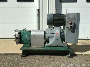 Waukesha 60 3 Sanitary positive Displacement Two Lobe Pump