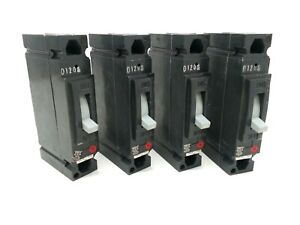 Thed113020 General Electric Circuit Breakers lot Of 5