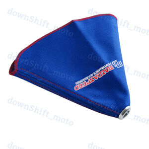 For Mazda Ms Mazdaspeed Shift Knob Shifter Boot Cover Mt at Blue Racing Fabric