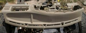 2005 2006 2007 Ford F 350 Super Duty Dash Panel Tan