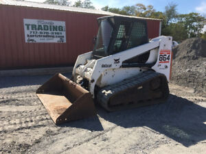 2003 Bobcat 864 Compact Track Skid Steer Loader One Owner Only 2200 Hours
