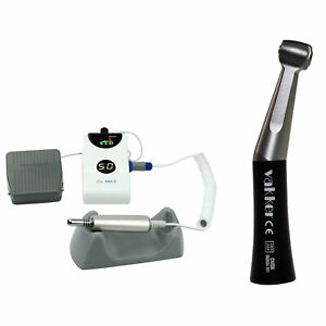 Dental Portable Brushless Polish Micro Motor Low Speed Handpiece Contra Angle