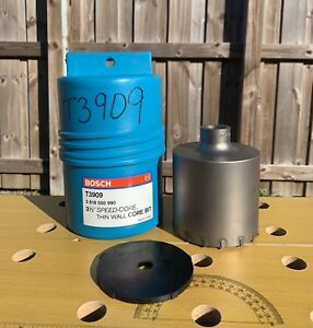 New T3909 Bosch 3 1 2 In Sds plus Speed Core Thin Wall Core Bit For Masonry