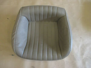 96 02 Firebird Trans Am Tan Neutral Leather Rear Lower Seat Bottom 0615 88