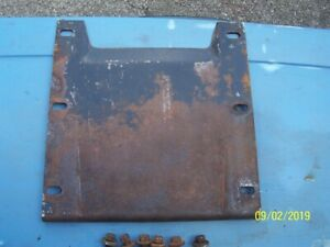 1971 73 Ford Mustang Original Convertible Center Support Plate W Bolts