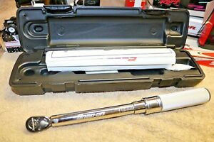 New Snap On Qd1r200 Adjustable Click Torque Wrench 1 4 Drive 40 200 In Lbs