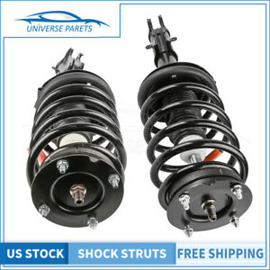 2x Front Complete Struts Shocks Assembly For 05 10 Ford Mustang Gt Base 172138