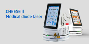 Diode Laser Soft tissue Surgery Handpiece Fiber 10 Watts Touch Screen Dental