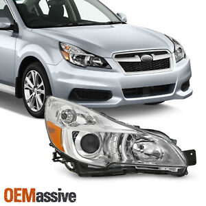 Passenger Right For 2013 2014 Subaru Legacy Outback Projector Chrome Headlight