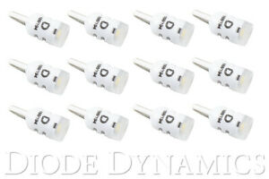194 Incandescent Bulb Replacement Led Hp3 Led Pure White 12pk Diode Dynamics