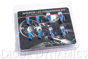 Interior Lights Led Conversion Kit 2015 2016 2017 Ford Mustang Stage 2 Blue