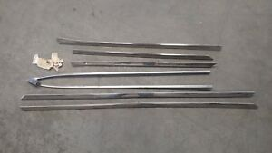 Plymouth Savoy 4 Door Side Trim 1958 Only