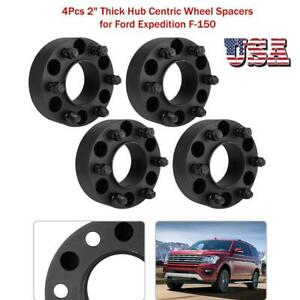 4pcs 2 Thick 6x135 Hub Centric Wheel Spacers For Ford Expedition F 150 Us Stock