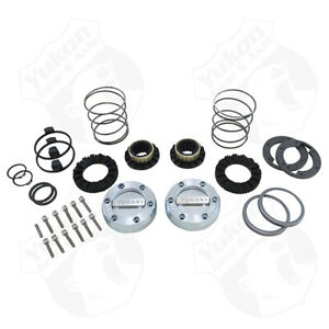 Yukon Yhc70006 Hardcore Locking Hub Set For Dana 44 Gm Ford Ton 19 Spline