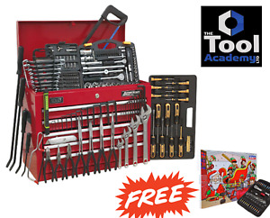 2019 Sale Toolkit Tool Chest 5 Drawer Red 230pce Toolbox Tool Kit