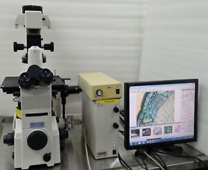 Nikon Eclipse Te2000 u Inverted Research Microscope Epi fluorescence Epi fl T fl