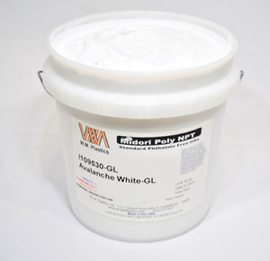 Avalanche White Plastisol Ink gallon