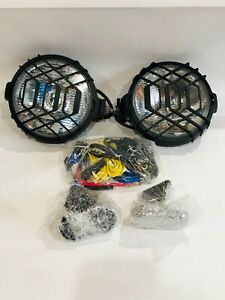 Delta Windshield Mount Xenon Driving Light Kit Fits 2007 18 Jeep Wrangler Jk