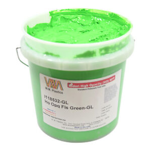 Flourescent Green Plastisol Ink quart