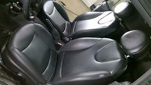09 15 Mini Cooper R57 Convertible Seat Set front rear Oem Used