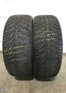 2x P275 40r20 Federal Couragia Su 10 11 32 Used Tires