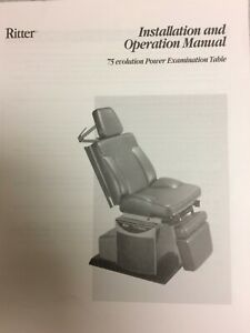 Ritter Evolution 75 Power Exam Table chair Used Good Condition