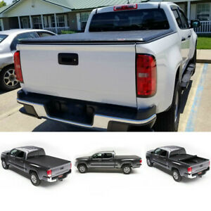 6 5 Ft Soft Roll Up Tonneau Cover Bed For 07 14 Silverado Sierra 1500 2500 3500