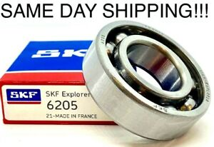6205 Skf Bearing 25x52x15 mm open No Seals Or Shields Same Day Shipping