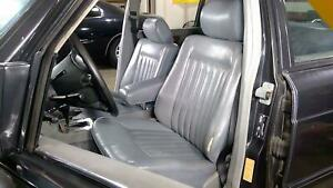 97 Mercedes Benz 560sel Front Bucket Seat Set Left Right Grey 462