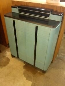 Vintage 1940 S Dental Cabinet Art Deco Mid Century Modern Storage Of