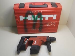 Hilti Te 5a Rotohammer 24v Cordless Hammer Drill Bare Tool N Case Sds plus Chuck